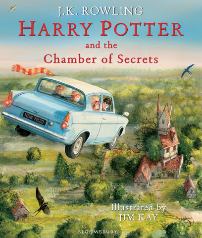 Illustrated Ed. - Harry Potter Book 2: Harry Potter and the Chamber of Secrets by J. K. Rowling