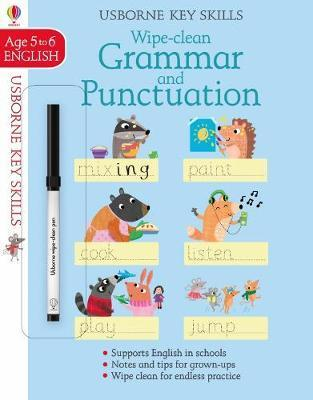 Wipe-Clean Grammar & Punctuation 5-6 by Jessica Greenwell