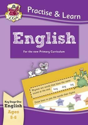 New Practise & Learn: English for Ages 5-6 by Books CGP