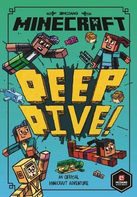 Minecraft Woodsword Chronicles Book 3: Deep Dive by Nick Eliopulos