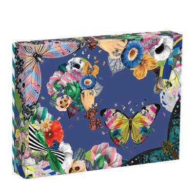 Heritage Collection 'Frivolites' Set of 2 Jigsaw Puzzles - 850+ Shaped Pieces by Christian Lacroix