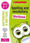 English Skills Spell & Vocab Wrkbk 5-7 by Sarah Snashall