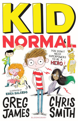 Kid Normal 1 by Greg James