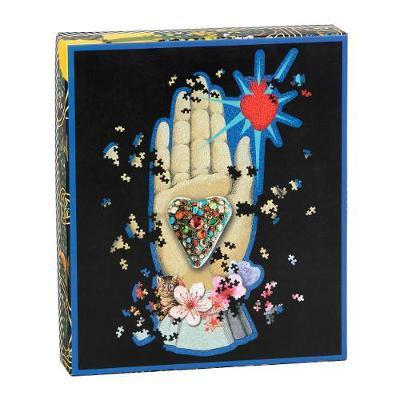 Heritage Collection 'Maison de Jeu' Set of 2 Jigsaw Puzzles - 750 Shaped Pieces by Christian Lacroix