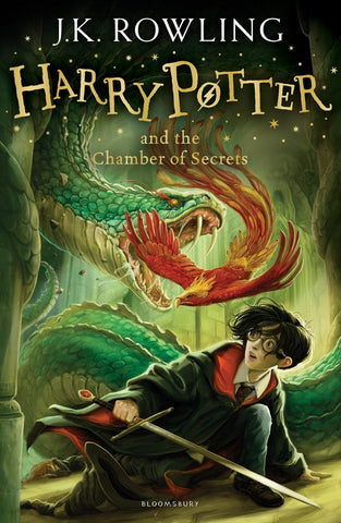 Harry Potter Book 2: Harry Potter and the Chamber of Secrets by J. K. Rowling