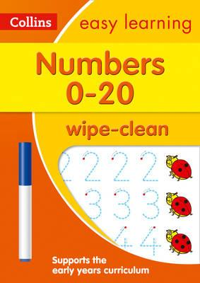 Numbers 0-20: Wipe-Clean Activity Book Age 3-5