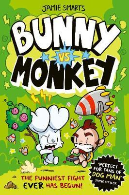 Bunny vs Monkey by Jamie Smart
