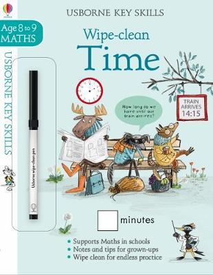 Wipe-Clean Time Age 8-9 by Holly Bathie