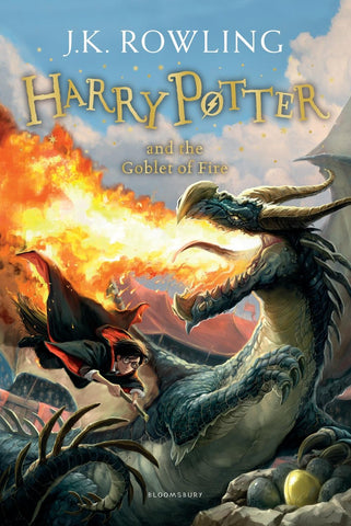 Harry Potter Book 4: Harry Potter and the Goblet of Fire by J. K. Rowling