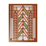 Frank Lloyd Wright Tree Of Life Large Embellished Notecards by Sarah McMenemy