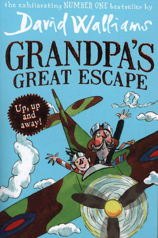 Grandpas Great Escape by David Walliams