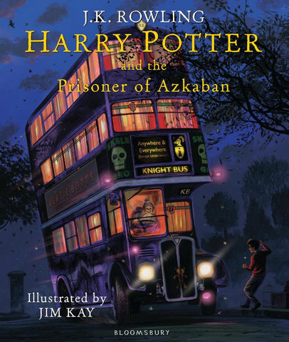 Illustrated Ed. - Harry Potter Book 3: Harry Potter and the Prisoner of Azkaban by J. K. Rowling