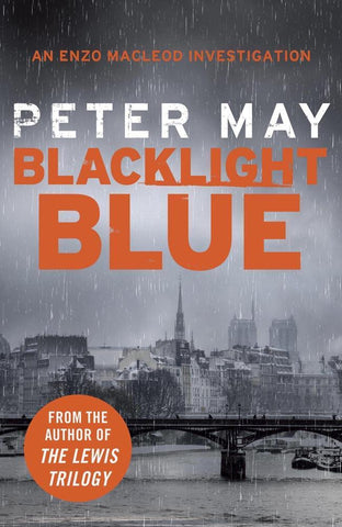 Enzo Files 03 Blacklight Blue by Peter May