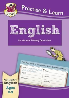 New Practise & Learn: English for Ages 8-9 by Books CGP