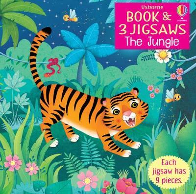 Book and 3 Jigsaws: The Jungle by Sam Taplin