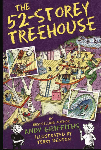 52 Storey Treehouse by Andy Griffiths