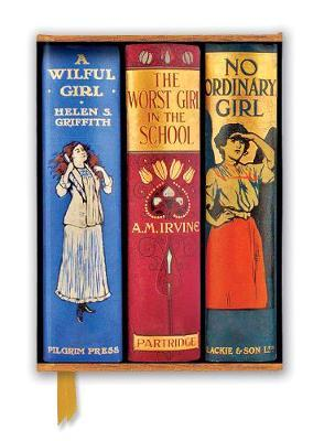 Great Girls Book Spines Foiled Journal