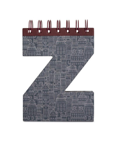 Alphabooks Note Books Letter Z