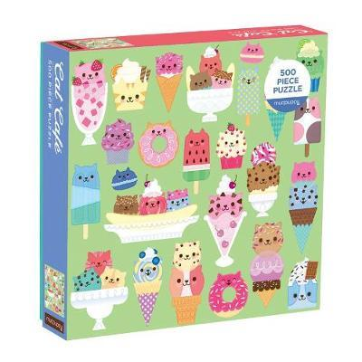 Cat Cafe 500 Piece Jigsaw Puzzle