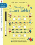 Wipe-Clean Times Tables Age 7-8