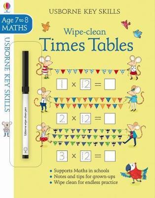 Wipe Clean Times Tables 7 8 by Holly Bathie