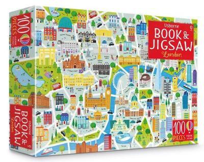 London: Book and 100 Piece Jigsaw by Sam Smith