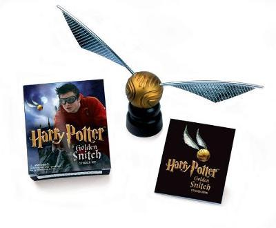 Harry Potter Golden Snitch Sticker Kit by Press Running
