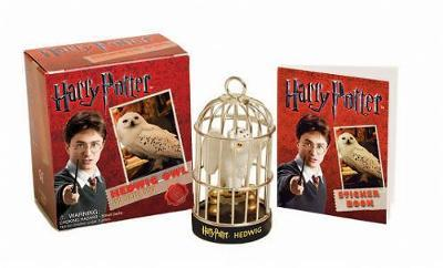 Harry Potter Hedwig Owl Kit and Sticker Book by Press Running
