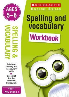 English Skills: Spelling & Vocabulary Workbook Ages 5-6 by Alison Milford