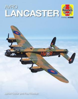Avro Lancaster (Icon) by Jarrod Cotter