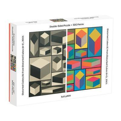 Moma Sol Lewitt 500 Piece 2-Sided Puzzle by Sarah McMenemy