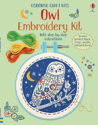 Embroidery Kit: Owl by Lara Bryan