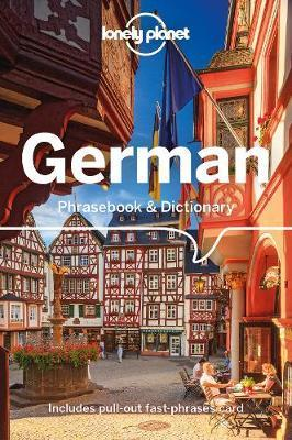 Lonely Planet German Phrasebook & Dictionary by Planet Lonely