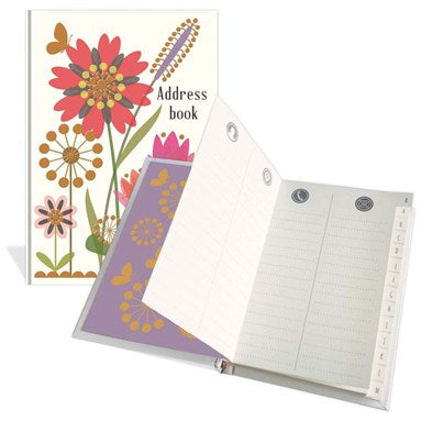 Flowers Address Book