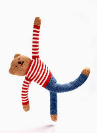 Freddie Flipp Blue trousers Crochet Toy