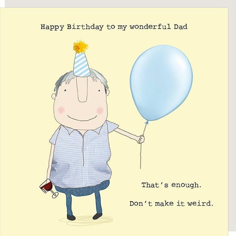 Wonderful Dad Card