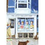 The Little Fish and Chip Shop Card