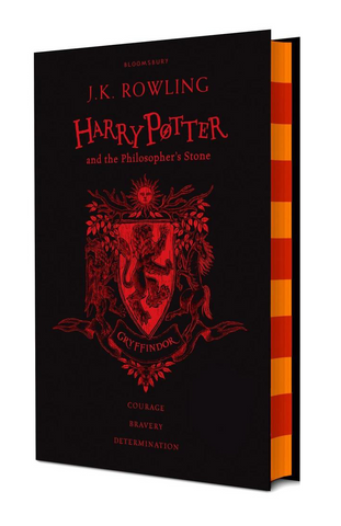 Gryffindor Ed. - Harry Potter Book 1: Harry Potter and the Philosopher's Stone