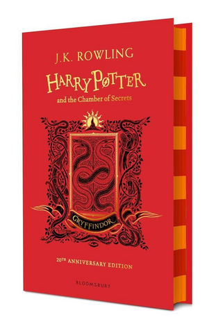 Gryffindor Ed. - Harry Potter Book 2: Harry Potter and the Chamber of Secrets