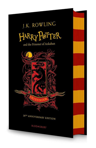 Gryffindor Ed. - Harry Potter Book 3: Harry Potter and the Prisoner of Azkaban by J. K. Rowling
