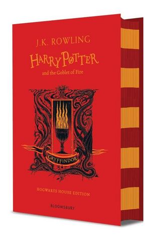 Gryffindor Ed. - Harry Potter Book 4: Harry Potter and the Goblet of Fire by J. K. Rowling