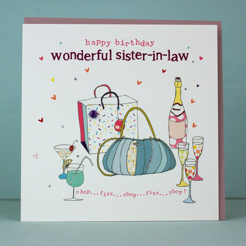 Wonderful Sister-In-Law Card