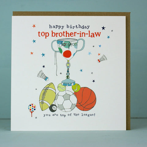 Top Brother-In-Law Card