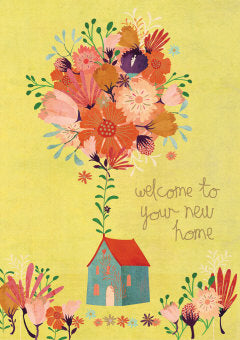 House of Flowers Card
