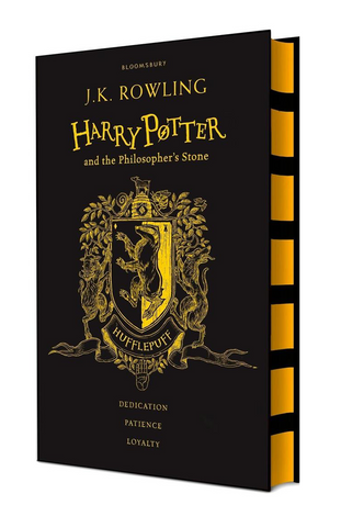 Hufflepuff Ed. - Harry Potter Book 1: Harry Potter and the Philosopher's Stone by J. K. Rowling