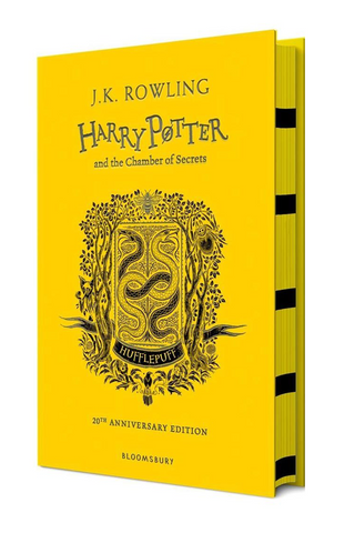 Hufflepuff Ed. - Harry Potter Book 2: Harry Potter and the Chamber of Secrets by J. K. Rowling