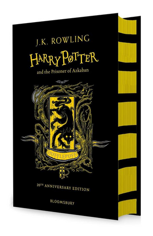 Hufflepuff Ed. - Harry Potter Book 3: Harry Potter and the Prisoner of Azkaban by J. K. Rowling