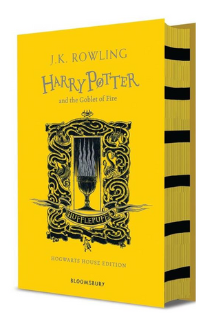 Hufflepuff Ed. - Harry Potter Book 4: Harry Potter and the Goblet of Fire by J. K. Rowling