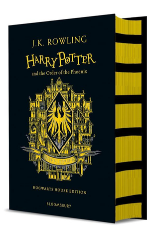 Hufflepuff Ed. - Harry Potter Book 5: Harry Potter and the Order of the Phoenix