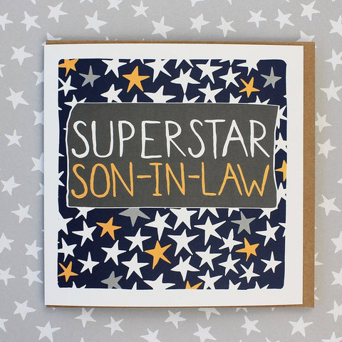 Superstar Son-In-Law Card